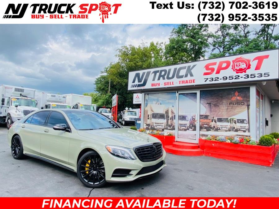 Used 2015 Mercedes-Benz S-Class in South Amboy, New Jersey | NJ Truck Spot. South Amboy, New Jersey