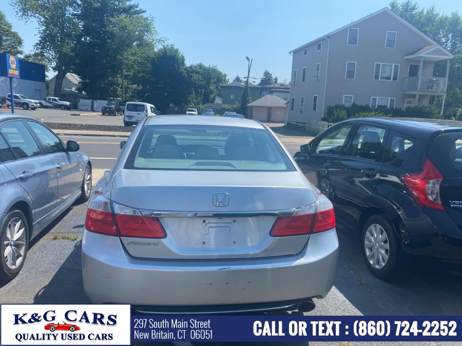 Used Honda Accord Sdn 4dr I4 CVT EX 2013 | K and G Cars . New Britain, Connecticut