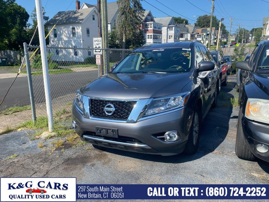 Used 2015 Nissan Pathfinder in New Britain, Connecticut | K and G Cars . New Britain, Connecticut