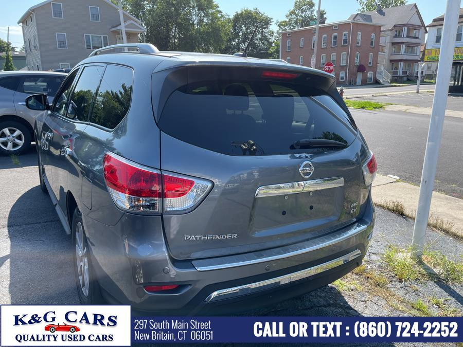 Used Nissan Pathfinder 4WD 4dr SL 2015 | K and G Cars . New Britain, Connecticut