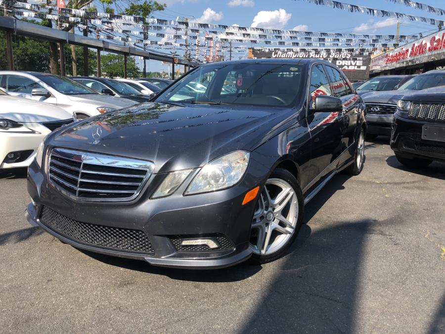 Used 2011 Mercedes-Benz E-Class in Bronx, New York | Champion Auto Sales Of The Bronx. Bronx, New York