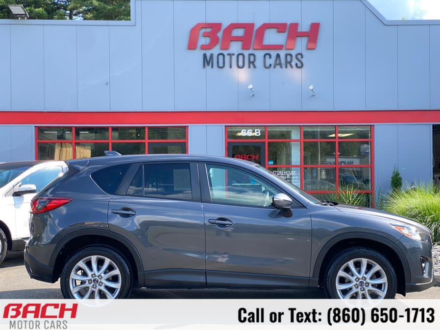 Used Mazda CX-5 AWD 4dr Auto Grand Touring 2015   Bach Motor Cars. Canton , Connecticut