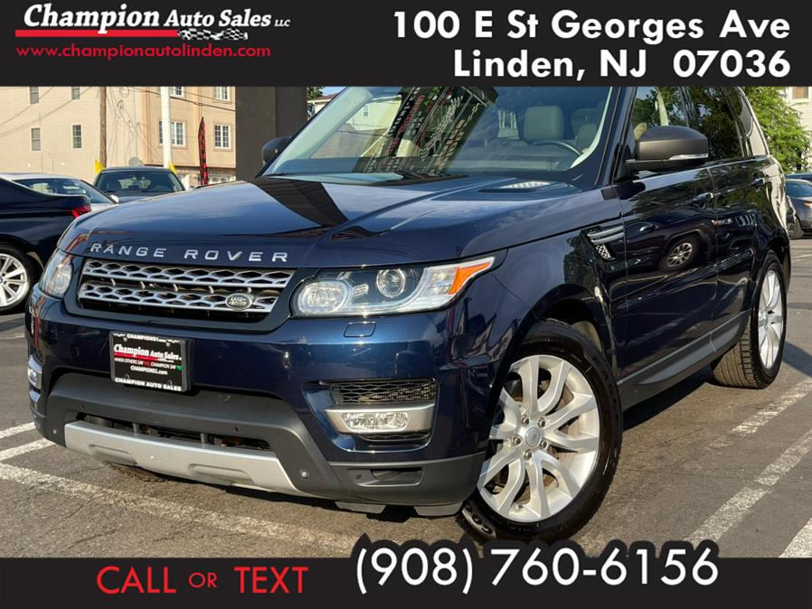 Used 2015 Land Rover Range Rover Sport in Linden, New Jersey | Champion Auto Sales. Linden, New Jersey