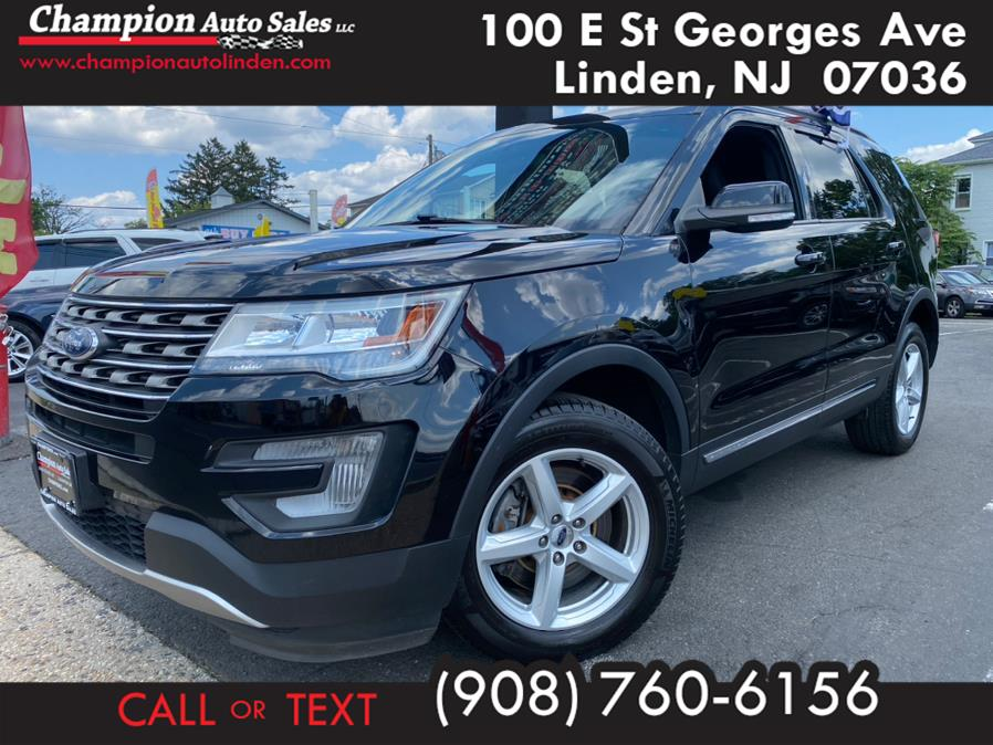 Used 2017 Ford Explorer in Linden, New Jersey | Champion Auto Sales. Linden, New Jersey