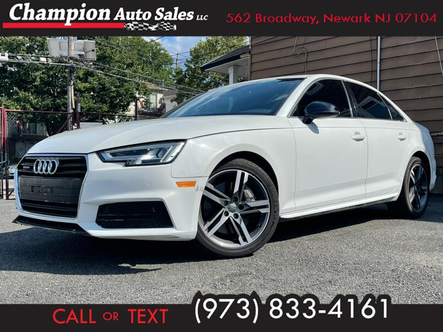 Used 2017 Audi A4 in Newark, New Jersey | Champion Auto Sales. Newark, New Jersey