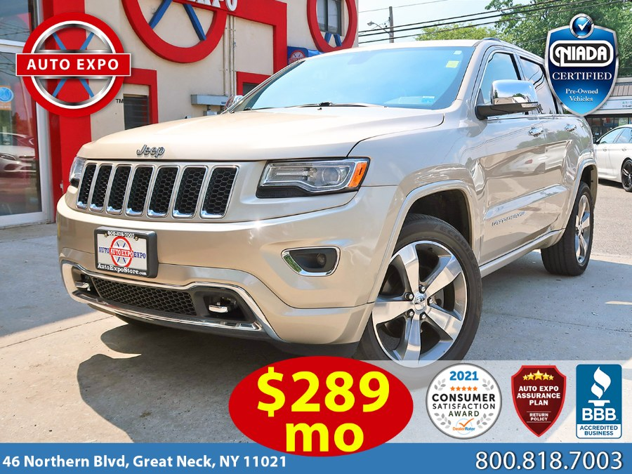 Used Jeep Grand Cherokee Overland 2015   Auto Expo Ent Inc.. Great Neck, New York