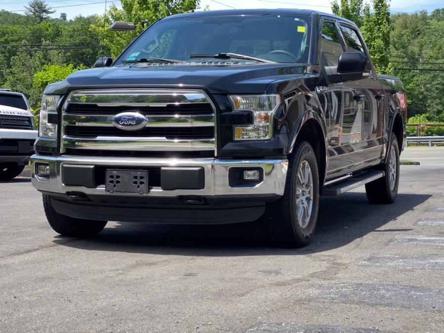 "Used Ford F-150 4WD SuperCrew 145"" Lariat 2016 | Lava Motors 2 Inc. Canton, Connecticut"
