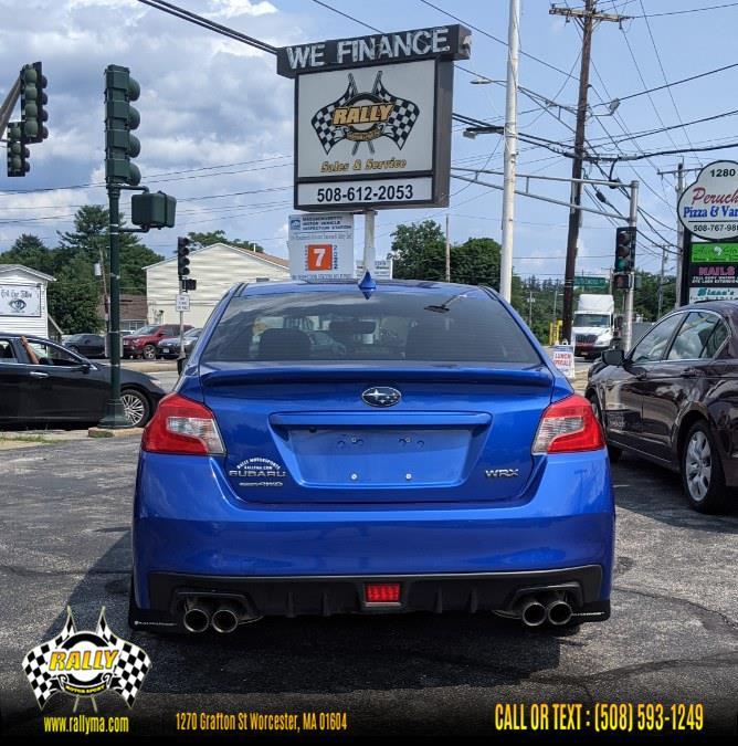 Used Subaru WRX Premium Manual 2017   Rally Motor Sports. Worcester, Massachusetts