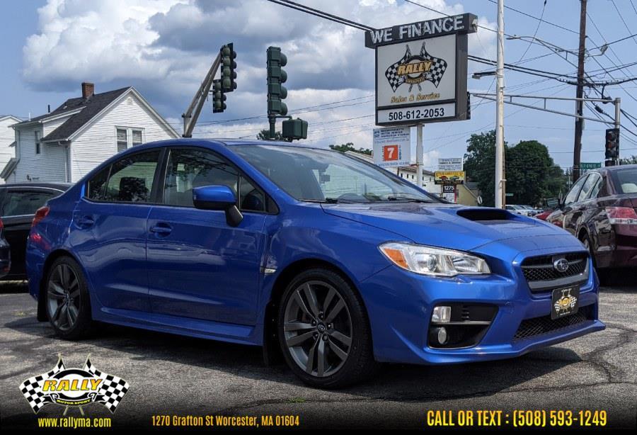 Used 2017 Subaru WRX in Worcester, Massachusetts | Rally Motor Sports. Worcester, Massachusetts