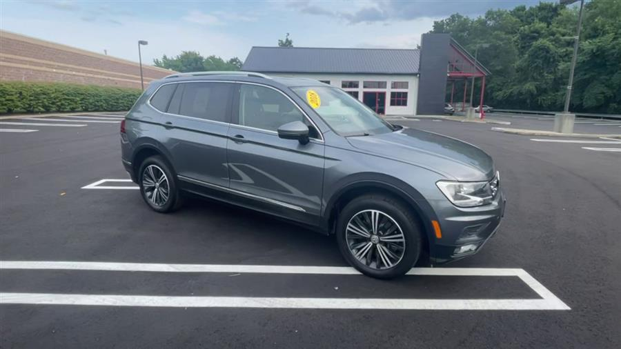 Used Volkswagen Tiguan 2.0T SEL 4MOTION 2018   Wiz Leasing Inc. Stratford, Connecticut