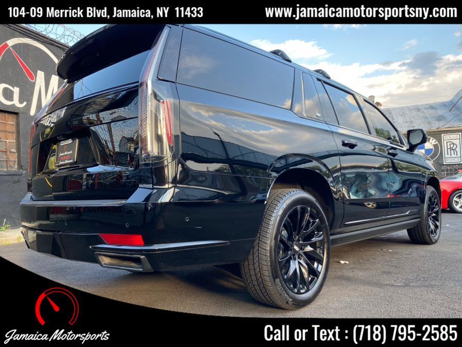 Used Cadillac Escalade ESV 4WD 4dr Sport 2021   Jamaica Motor Sports . Jamaica, New York