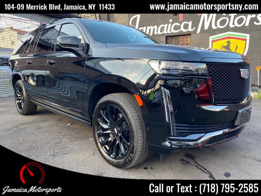 Used 2021 Cadillac Escalade ESV in Jamaica, New York | Jamaica Motor Sports . Jamaica, New York