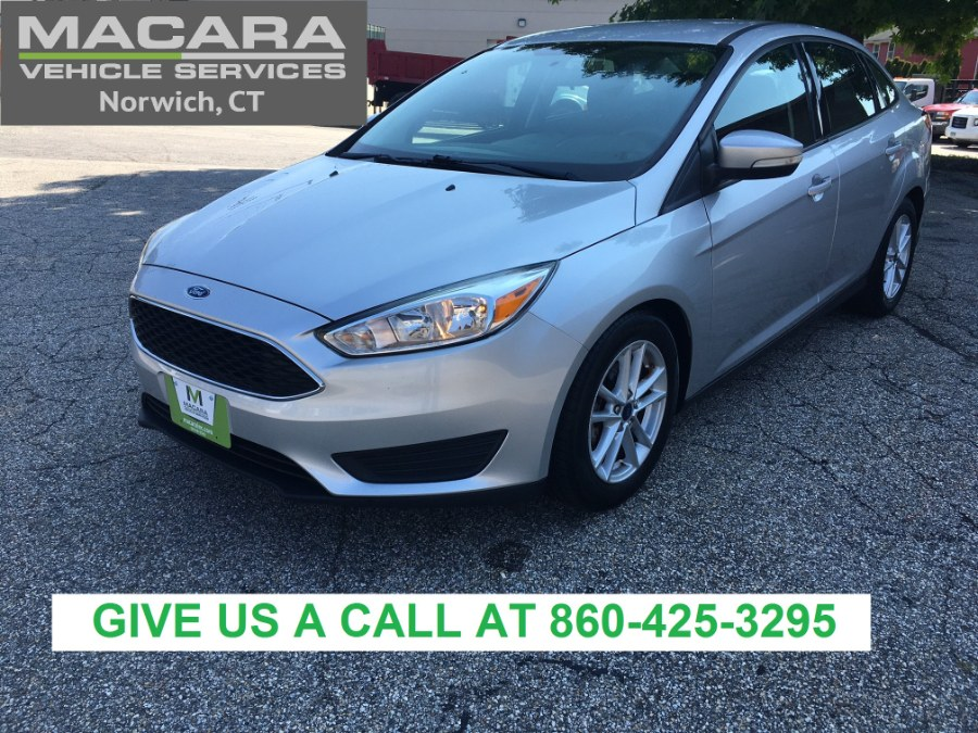 Used Ford Focus 4dr Sdn SE 2016 | MACARA Vehicle Services, Inc. Norwich, Connecticut
