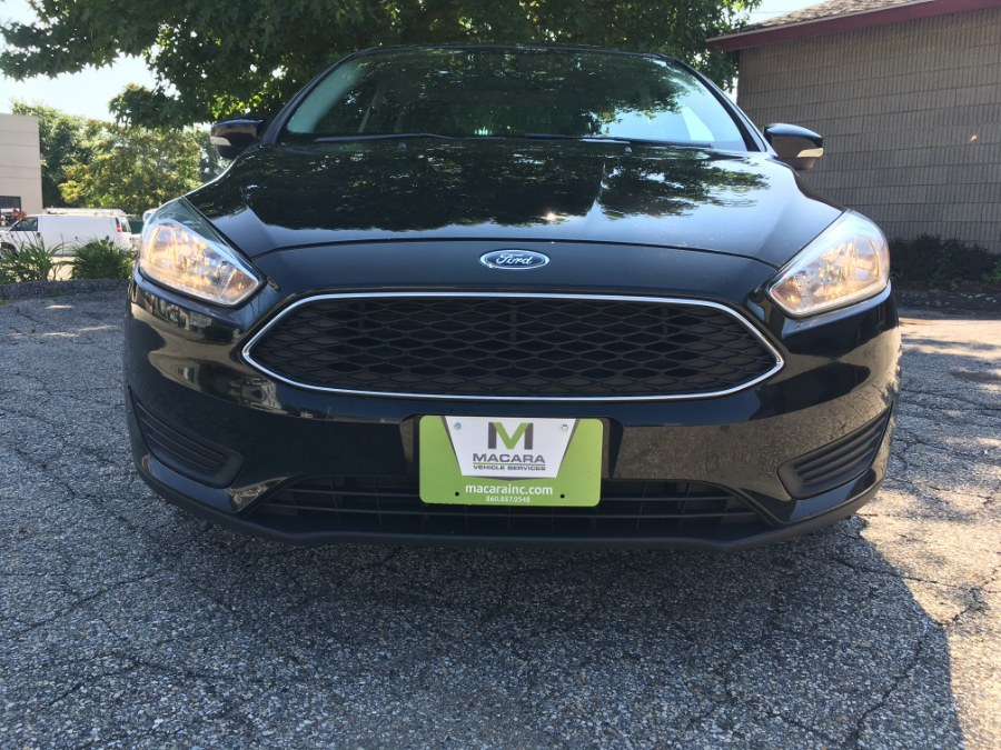 Used Ford Focus 4dr Sdn SE 2016   MACARA Vehicle Services, Inc. Norwich, Connecticut