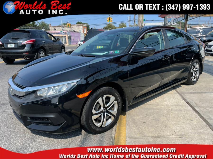 2018 Honda Civic Sedan LX CVT, available for sale in Brooklyn, NY