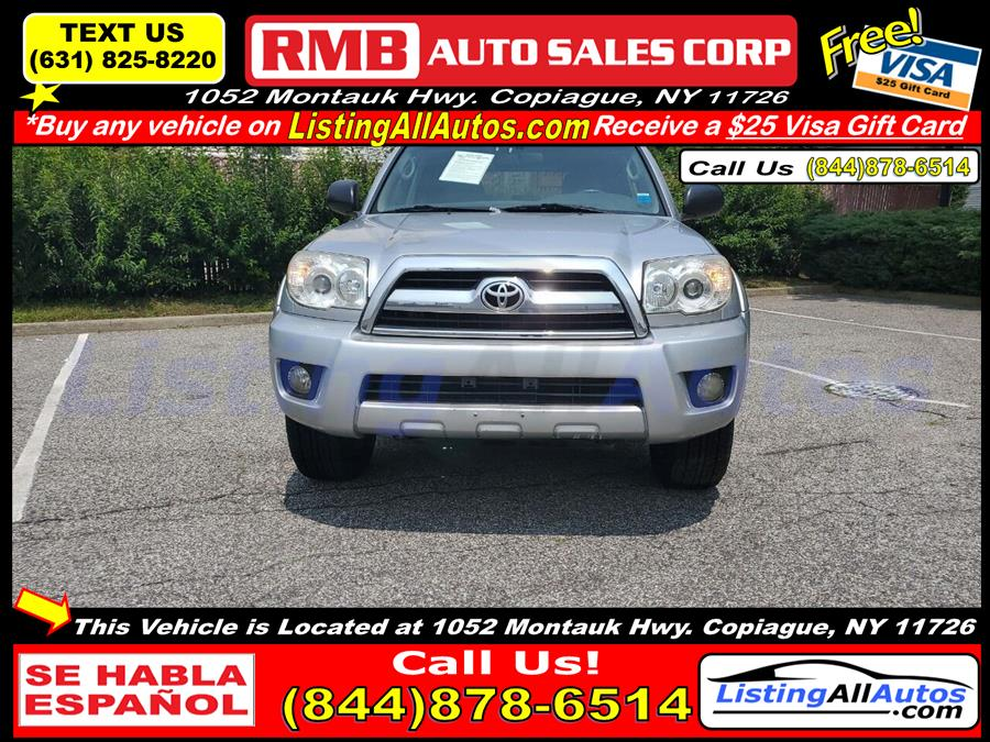 Used 2007 Toyota 4runner in Patchogue, New York   www.ListingAllAutos.com. Patchogue, New York