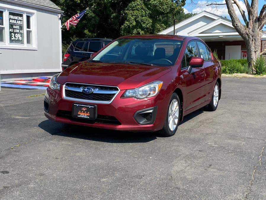 Used Subaru Impreza Sedan 4dr Auto 2.0i Premium 2014 | Lava Motors 2 Inc. Canton, Connecticut