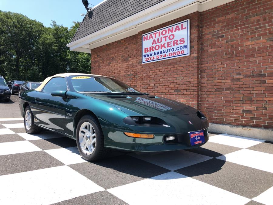 Used Chevrolet Camaro 2dr Convertible Z28 1995 | National Auto Brokers, Inc.. Waterbury, Connecticut