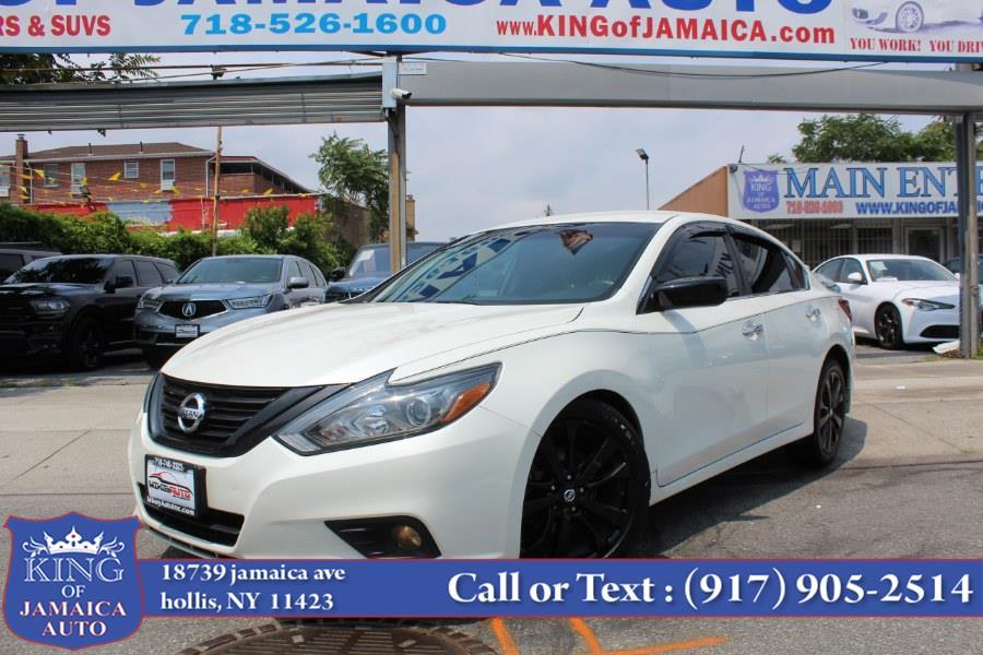 Used Nissan Altima 2.5 SR Sedan Midnight Edition 2018 | King of Jamaica Auto Inc. Hollis, New York