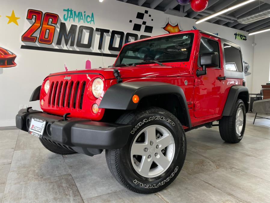 Used 2017 Jeep Wrangler Sport in Hollis, New York | Jamaica 26 Motors. Hollis, New York