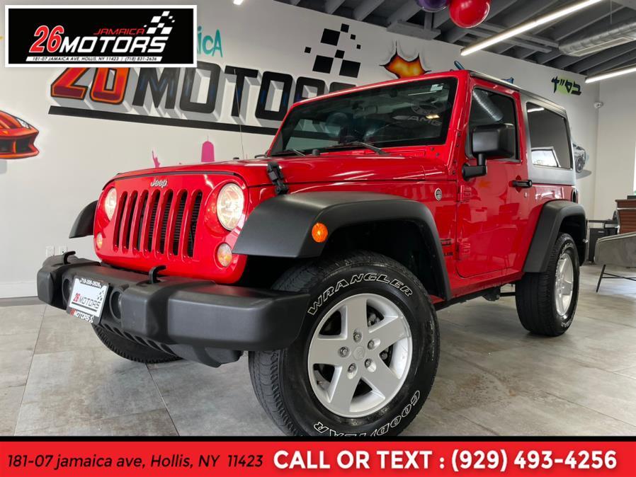 Used Jeep Wrangler Sport Sport 4x4 2017 | Jamaica 26 Motors. Hollis, New York