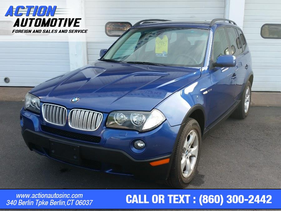 Used BMW X3 AWD 4dr 3.0si 2007 | Action Automotive. Berlin, Connecticut