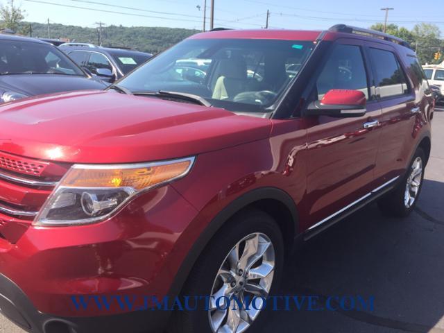 Used Ford Explorer 4WD 4dr Limited 2014 | J&M Automotive Sls&Svc LLC. Naugatuck, Connecticut