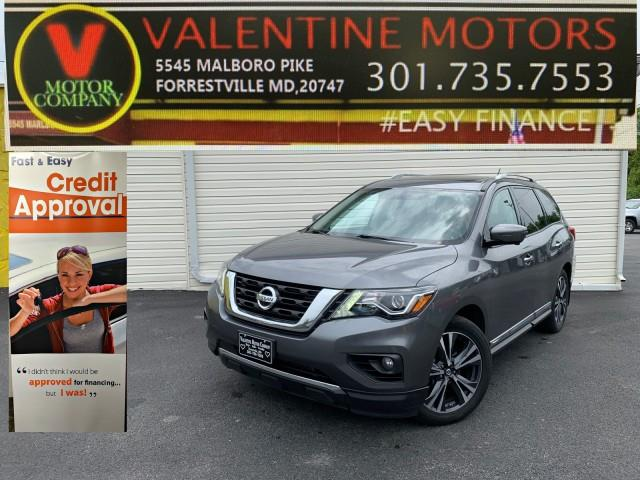 Used Nissan Pathfinder Platinum 2017 | Valentine Motor Company. Forestville, Maryland