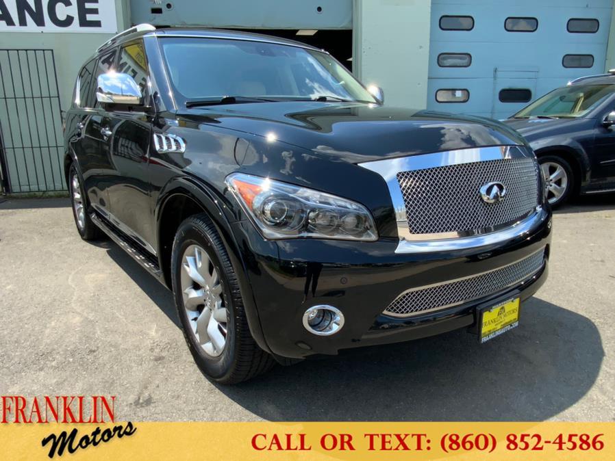 Used 2012 INFINITI QX56 in Hartford, Connecticut | Franklin Motors Auto Sales LLC. Hartford, Connecticut