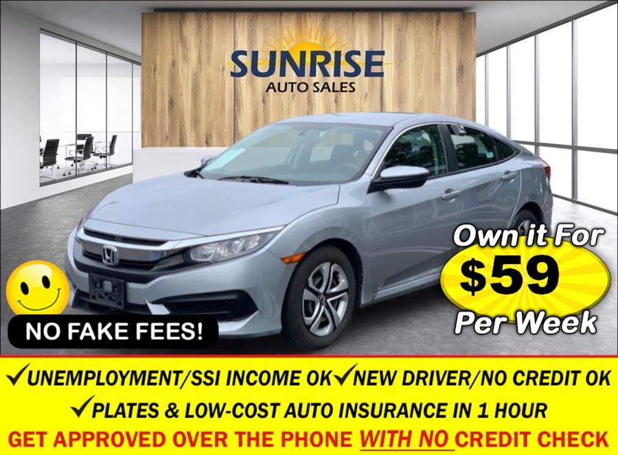 Used 2016 Honda Civic Sedan in Rosedale, New York | Sunrise Auto Sales. Rosedale, New York
