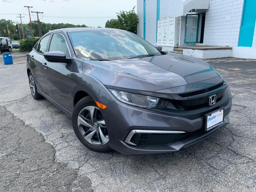 Used Honda Civic Sedan LX CVT 2019 | Dealertown Auto Wholesalers. Milford, Connecticut