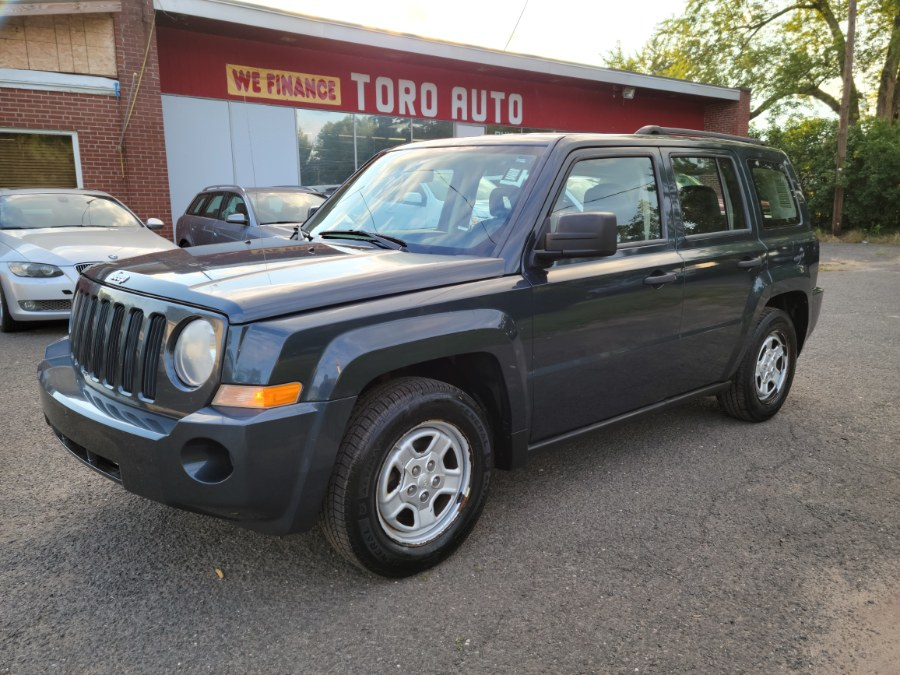 Used Jeep Patriot 4WD 4dr Sport Leather Seats 2008   Toro Auto. East Windsor, Connecticut