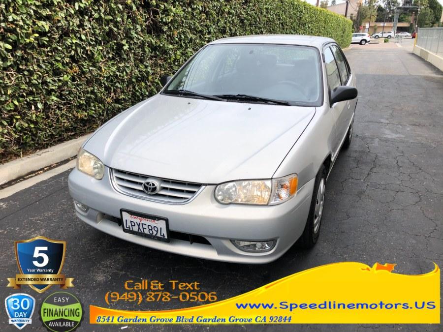 Used 2001 Toyota Corolla in Garden Grove, California   Speedline Motors. Garden Grove, California