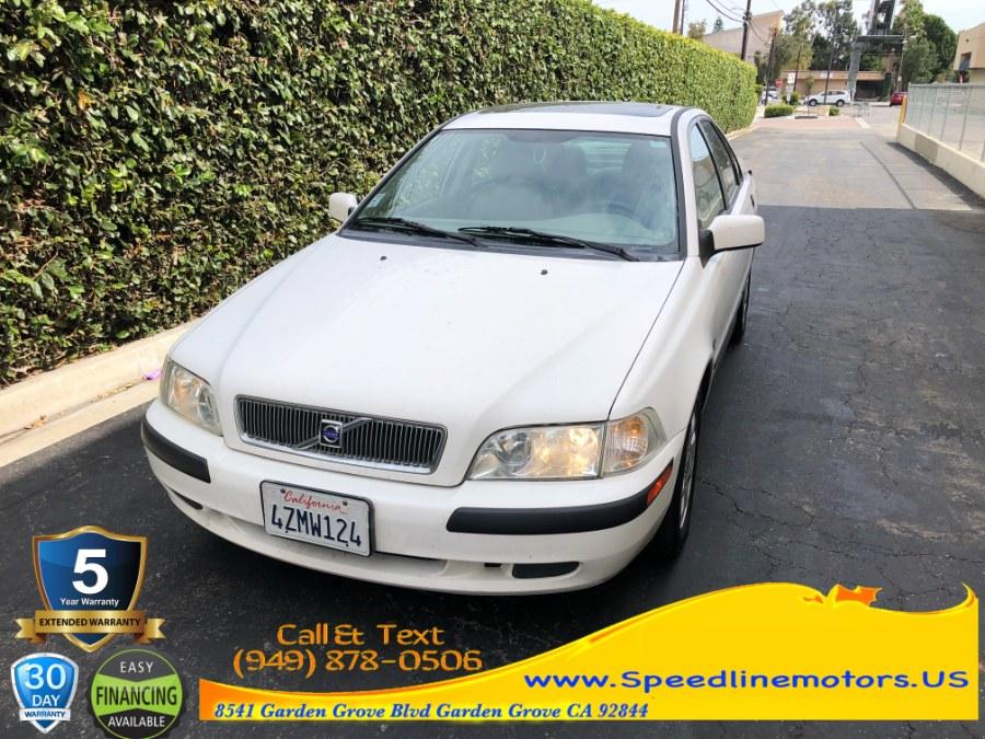 Used 2001 Volvo S40 in Garden Grove, California | Speedline Motors. Garden Grove, California