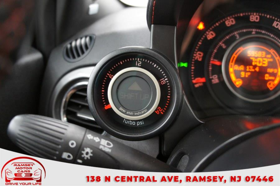 Used FIAT 500 2dr HB Abarth 2012   Ramsey Motor Cars Inc. Ramsey, New Jersey