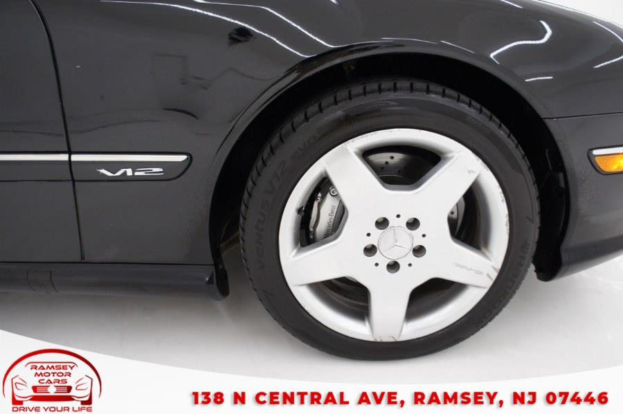 Used Mercedes-Benz CL-Class 2dr Cpe 5.5L 2003 | Ramsey Motor Cars Inc. Ramsey, New Jersey