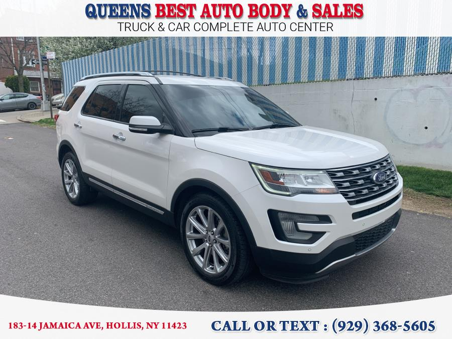 Used Ford Explorer Limited FWD 2017 | Queens Best Auto Body / Sales. Hollis, New York