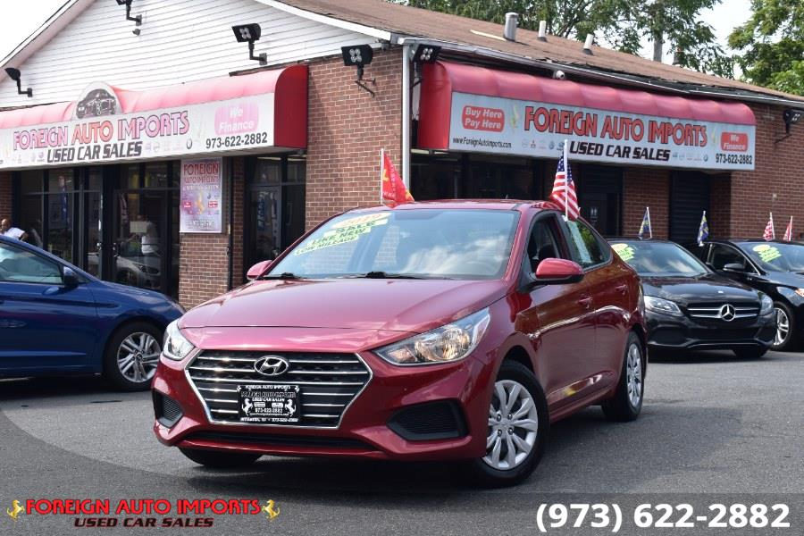 Used 2019 Hyundai Accent in Irvington, New Jersey   Foreign Auto Imports. Irvington, New Jersey
