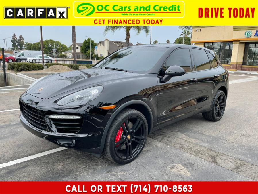 Used Porsche Cayenne AWD 4dr Turbo 2013 | OC Cars and Credit. Garden Grove, California