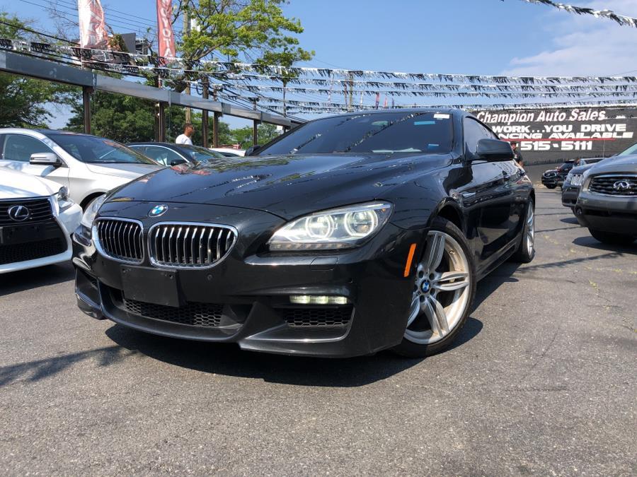 Used BMW 6 Series 4dr Sdn 640i xDrive AWD Gran Coupe 2015 | Champion Auto Sales Of The Bronx. Bronx, New York