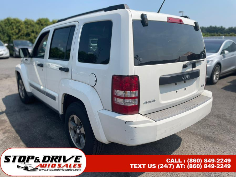 Used Jeep Liberty 4WD 4dr Sport 2008 | Stop & Drive Auto Sales. East Windsor, Connecticut