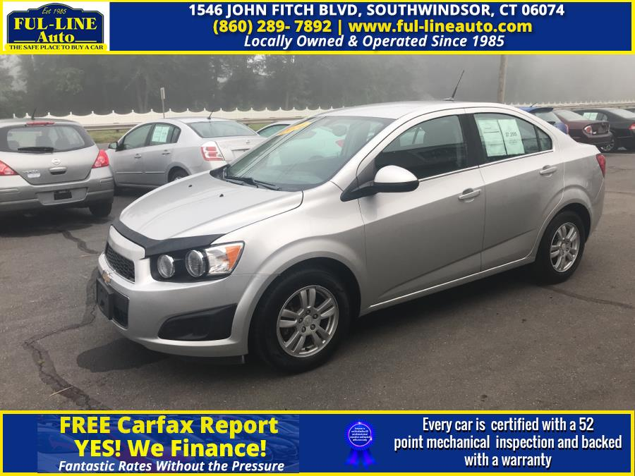 Used 2014 Chevrolet Sonic in South Windsor , Connecticut | Ful-line Auto LLC. South Windsor , Connecticut