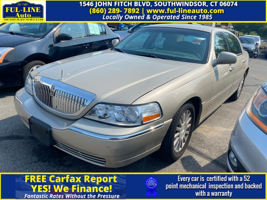 Used Lincoln Town Car 4dr Sdn Ultimate 2004 | Ful-line Auto LLC. South Windsor , Connecticut