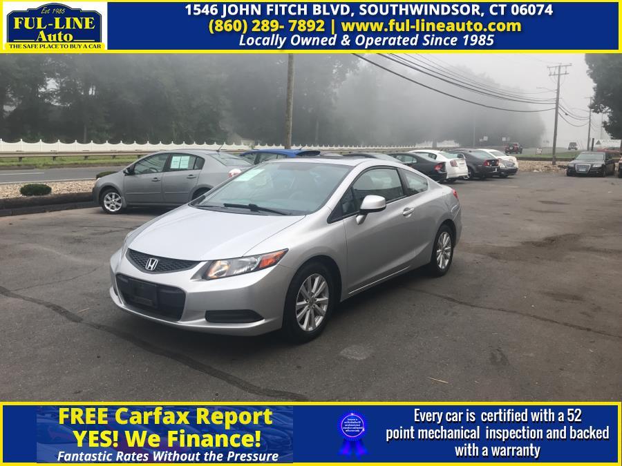 Used 2012 Honda Civic Cpe in South Windsor , Connecticut | Ful-line Auto LLC. South Windsor , Connecticut