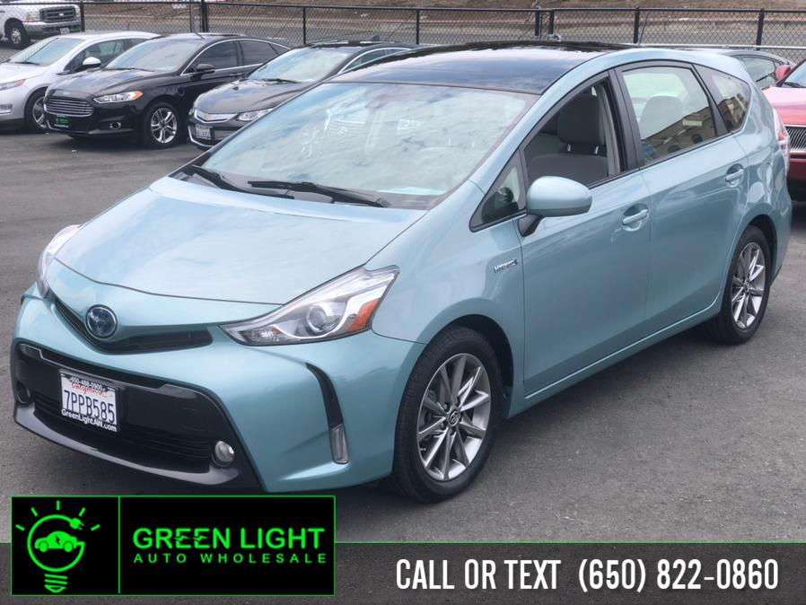 Used Toyota Prius V Five Advanced Tech Pkg 2016 | Green Light Auto Wholesale. Daly City, California