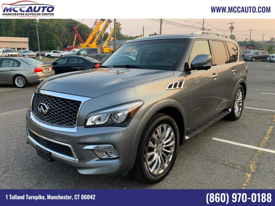 Used INFINITI QX80 4WD 4dr 2015 | Manchester Autocar Center. Manchester, Connecticut