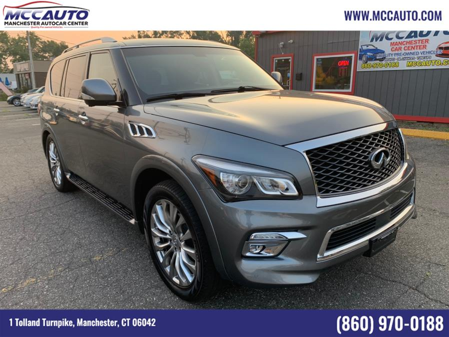 Used 2015 INFINITI QX80 in Manchester, Connecticut | Manchester Autocar Center. Manchester, Connecticut
