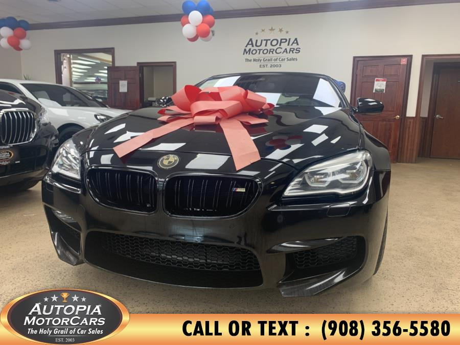 Used BMW M6 Convertible 2018 | Autopia Motorcars Inc. Union, New Jersey