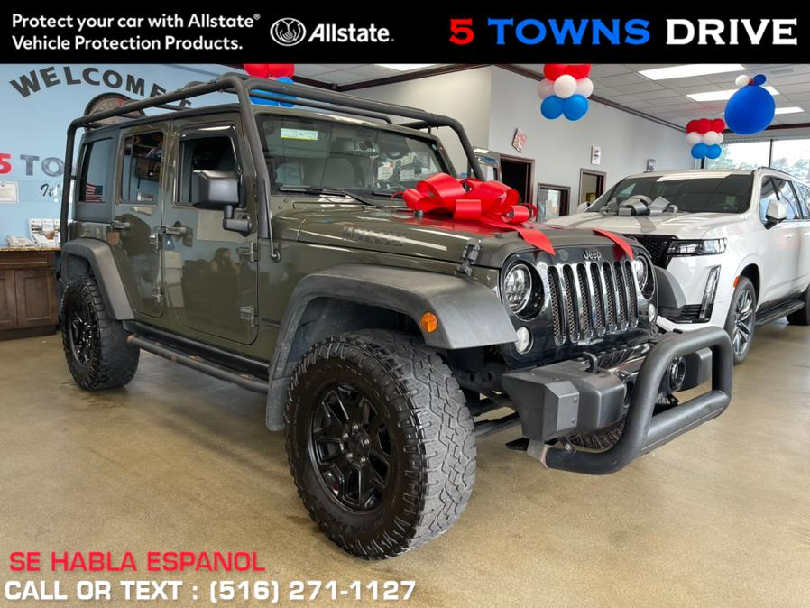 Used Jeep Wrangler Unlimited 4WD 4dr Willys Wheeler 2016   5 Towns Drive. Inwood, New York