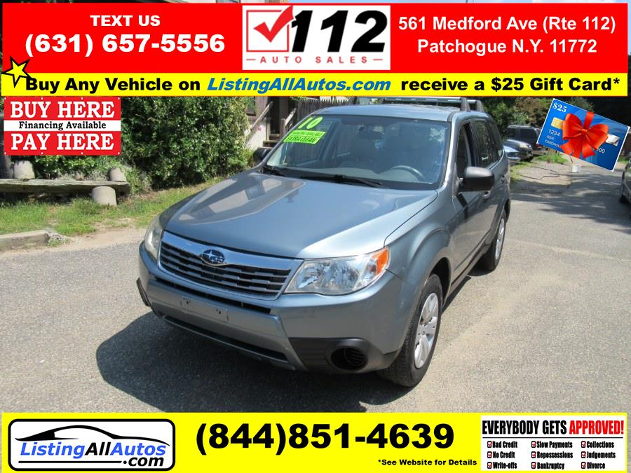 Used 2010 Subaru Forester in Patchogue, New York | www.ListingAllAutos.com. Patchogue, New York